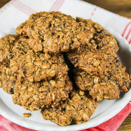 from scratch healthy homemade chocolate chip cookies