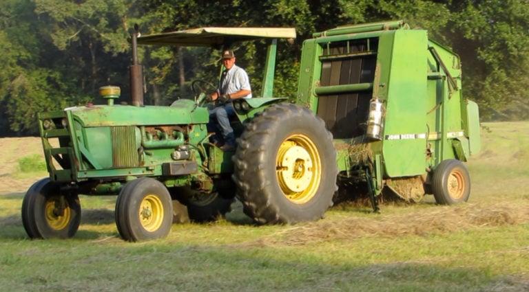 Baling Hay 101 Feeding Farm Animals