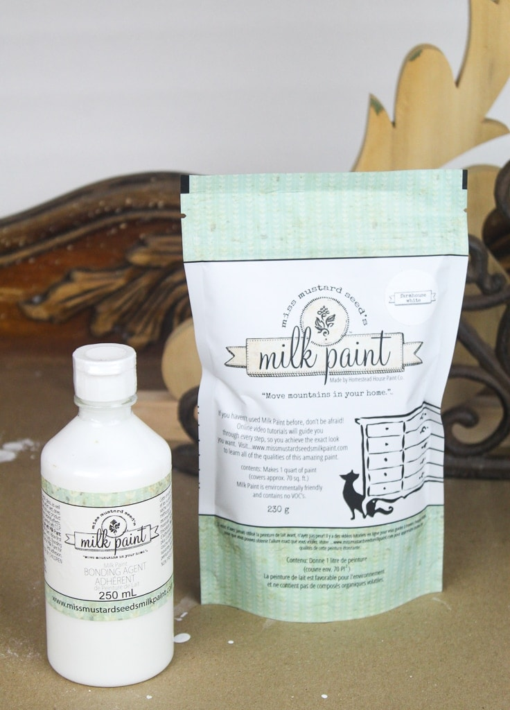 Do I need to use bonding agent with my milk paint?